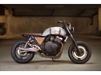 Cb400sf Scrambler Cafe Racer Bobber Custom Motorbike Pro build
