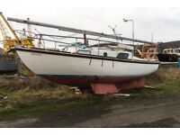 MacWester 26ft Sailing Boat