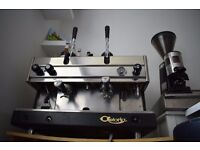Dual Fuel LPG Coffee Machine Astoria Lever