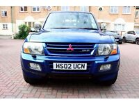 MITSUBISHI SHOGUN 3.2 DI-D ELEGANCE AUTOMATIC 1 OWNER FSH HPI CLEAR SAT NAV EXCELLENT CONDITION