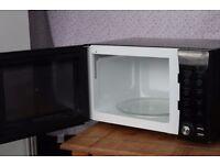 Black Daewoo Microwave