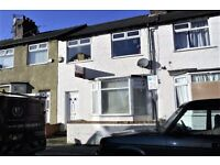 5 The Coppice, Anfield, Liverpool. 3 bed mid terrace with GCH & DG. LHA welcome. No application fee