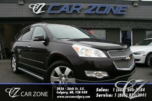 2009 Chevrolet Traverse LTZ, DVD, SUNROOF, 7 PASS