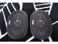 "Two JVC Car 6""x 9"" 240 Watt Speakers"