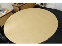 2 Desk Set, Fit Together For Large Circle Desk