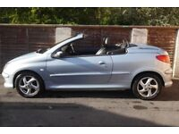 Peugeot 206cc Convertible, Automatic, Low Mileage, Silver, Two Lady Owners From New