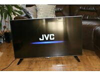 JVC 43' SMART TV MODEL LT-43C862 4K ULTRA HD!