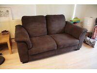 IKEA TIDAFORS Two-seat sofa in dark brown. Will fit in your car. NEW PRICE