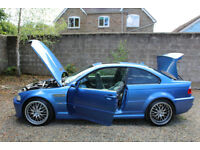 2003 BMW M3 E46 3.2 Manual Blue 91500 Miles