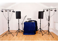 PA / Sound System and stage lights for Hire London, Greater London for events, parties ...