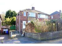 NEWLY REFURBISHED   3 Bedroom Semi-Detached   Whiteways Road   S4