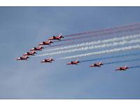 Fri 2 Sept...Scottish International Airshow, Ayrshire. Caravan Craig Tara Ayr.