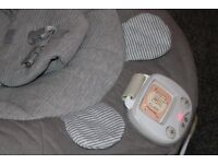 Mamas and Papas Baby Bouncer - Music and Vibration in Grey