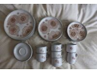 Denby Gypsy Dinner Set - Excellent Condition
