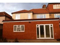 Stunning brand new 4/5 bedroom house with self contained GF studio flat to rent in Willesden Green