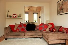 Lovely 3 bedroom terraced part furnished house for let in Staunton Rise, Livingston, West Lothian