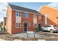 2 bed home in new build, Hardwick.
