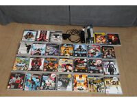 Ps3 Bundle of 26 Games,2 Move Controllers and Camera, all in good working order