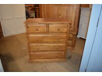 LANGLEY PINE 2 over 3 Chest
