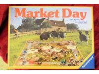 Rare Vintage 1984 Market Day Childrens Board Game, Good Condition & All Complete, see Info, Histon