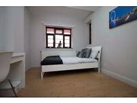 Newly refurbished 4 bedroom apartment near to Clapham South Tube Station.