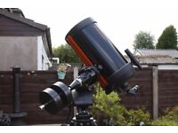 Celestron Telescope C9.25 Advanced GT with loads of accessories. Excellent Condition!