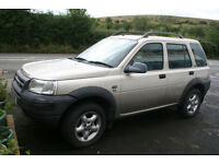 Land Rover FREELANDER 4x4 SUV 2.0, TD4, 5 DOOR, DIESEL, automatic - spares/repairs nr Swansea Valley