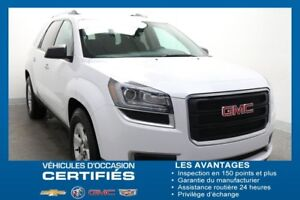 2016 GMC ACADIA 4WD SLE AWD 8 PASSAGERS *CAM.REC ÉCR.TACT*