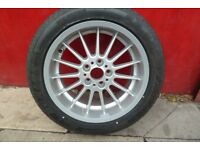 "BMW 7 Series E38 1994 to 1998 18"" Alloy Wheel and Tyre"