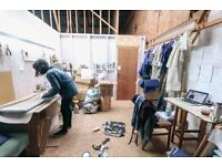 Workshop/Studio Space | Suitable for Noisy/Messy Projects | Freestone Studios