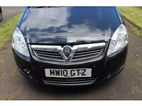Vauxhall Zafira MPV 2010 1.6 Exclusiv 5 Door 7 Seater