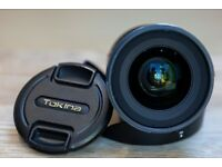 Tokina 11-16mm f/2.8 AT-X 116 PRO DX II (Canon mount)