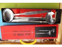 Stainless Steel salad servers in box