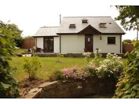 Character converted cow barn 10 minutes from Aberearon.