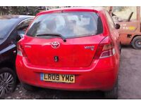 Toyota Yaris, Red colour, 3 doors, 2009 year, Breaking and selling for parts