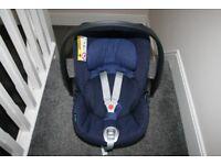 Cybex Cloud Q Plus Platinum Reclining Car Seat - Royal Blue / navy CAN POST