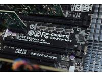 Gigabyte - GA-X79-UP4 ATX LGA2011 Motherboard and Intel Core i7-4820k 3.7GHz Quad Core **CHEAP**