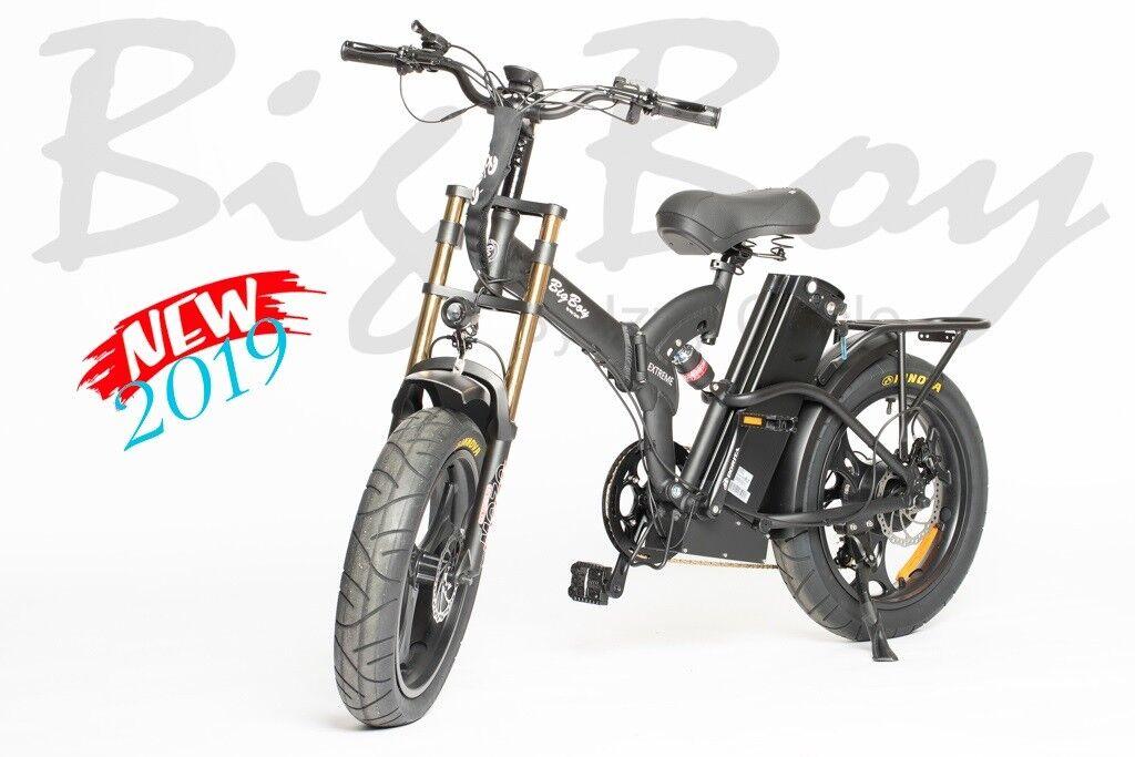 "Big Boy Extreme Electric Bike -48V, 2500mAh, 20"" Frame, 7 Sp"
