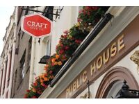Part time bar person needed in great friendly Clerkenwell pub