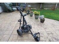 Powakaddy Sport 36 Hole Electric Golf Trolley + Accessories