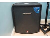 Peavey RX Series Hisys 115RX Bass Bin Black widow Loaded