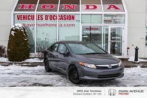 2012 Honda Civic LX * A/C * Bluetooth * Groupe électrique