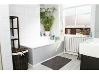 1 bed flat for 2 bed property