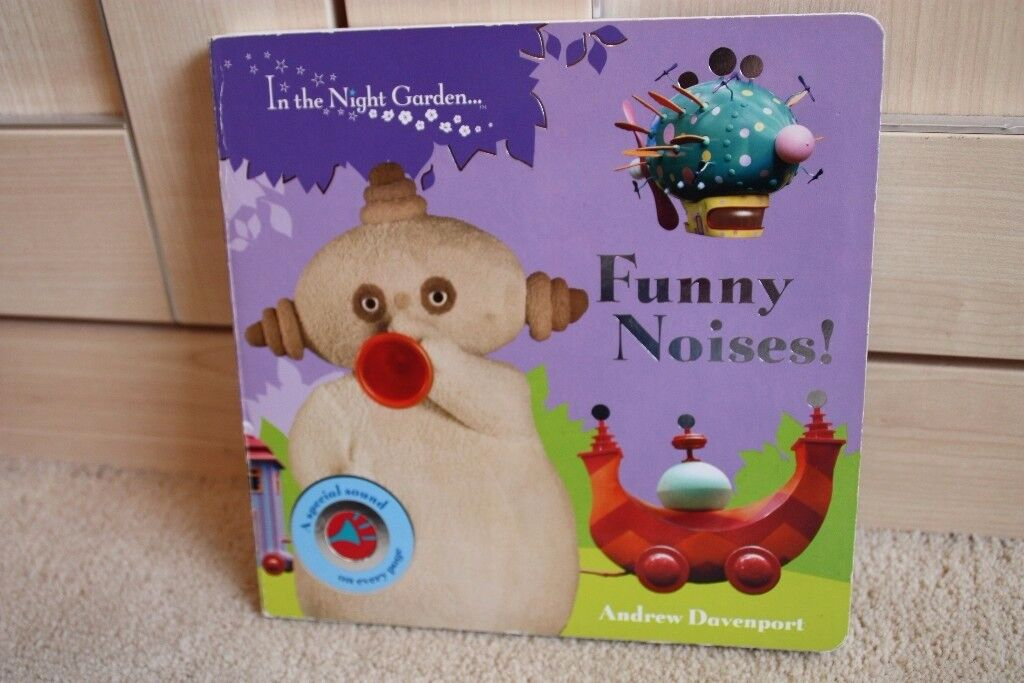 In the night garden funny noises book in cardiff gumtree in the night garden funny noises book publicscrutiny Image collections