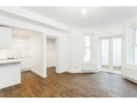 1 DOUBLE BEDROOM FLAT/BRIGHT LIGHT RECEPTION/MODERN FITTED KITCHEN/WOODEN FLOORS/SEPARATE ENTRANCE