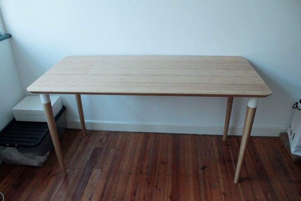 Desk ikea hilver in hackney london gumtree