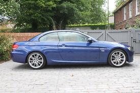 2009 BMW 320i M SPORT BLUE MANUAL 82K