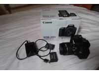 Canon 200D in Perfect Condition with 2 extra batteries