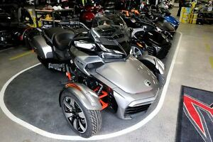 2016 can-am Spyder  F3  SE6 F3T w/Audio System; Save $4200!!!