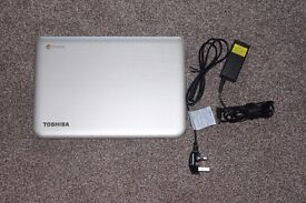 "Toshiba CB30, chromebook, 16gb ssd, 2gb ram, chrome OS, 13.3"" screen RRP £250"
